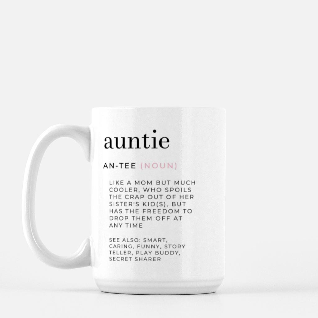 LiveYourDamnLifeShop [PMK14] - Auntie Definition - Mug